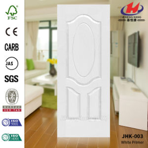 White Primer HDF Door Skin (JHK-003) pictures & photos