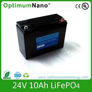 Intellectual Robots 24V 10ah LiFePO4 Battery Factory pictures & photos