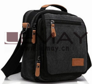 Durable Multifunction Canvas Shoulder Bag Business Messenger Bag iPad Bag Tote Bag Satchel Bag for Men and Women pictures & photos