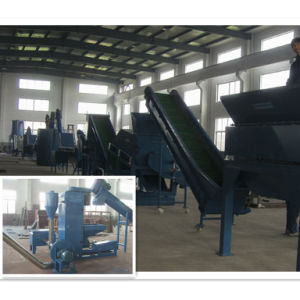 Plastic Pet Bottles Flakes Crushing, Washing and Recycling Machines Machine pictures & photos