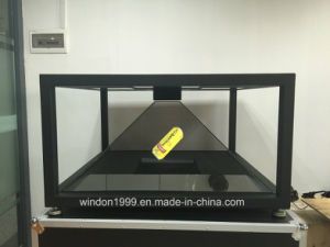 360 Degree Holographic 3D Pyramid Display / Hologram Showcase / Holo Box pictures & photos