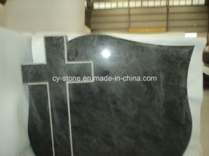 European Black/Aurora/G654/Granite Cross Headstone pictures & photos