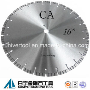 """16"""" Stable Performance Concrete Cutting Circular Saw Blade pictures & photos"""
