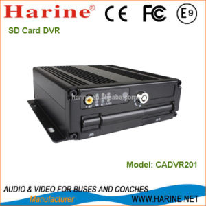 Vehicle Lock Design 1 Channel Video Output DVR Recorder pictures & photos