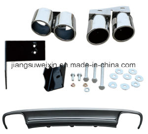"High Quality S4 2013-2015"" Exhaust Tail Throat Kit Exhaust System pictures & photos"