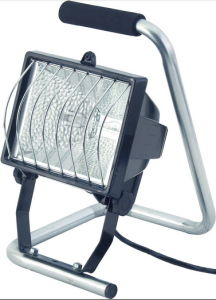 500W Ce Listed Portable Halogen Lamp pictures & photos