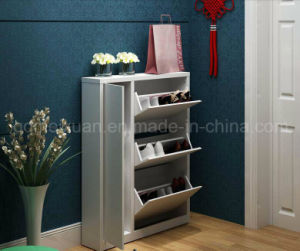 Solid Wooden Shoe Rack Cabinet (M-X2576) pictures & photos