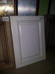 European Style PVC Membrane MDF Cupboard Book Cabinet Kitchen Door pictures & photos