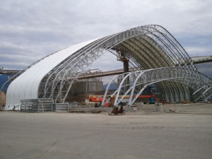 Steel Structure Steel Space Coal Storage Shed as Warehouse Roof Steel Frame pictures & photos