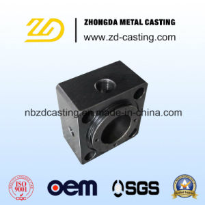 OEM Alloy Steel Casting CNC Machining for Building Hardware Part pictures & photos