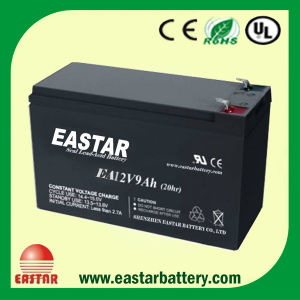 Eastar Brand 12V9ah UPS Battery Valve-Regulated AGM Battery Cells pictures & photos