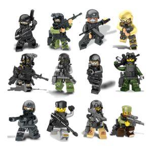 Latest Building Block Toy Plastic Figure Chain Block Hzh-Swat51000 pictures & photos