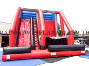 New Design Inflatable Climbing Wall and Jumping Freefall for Sport pictures & photos