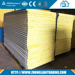50mm PU Sandwich Panel for Cold Room Partition Walls Sports Hall pictures & photos