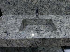 Quartz Bathroom Vanity for Prefab Homes pictures & photos