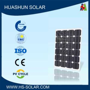 PV Module 55-65W Solar Panel with 125mm Solar Cells (SH-65S5-8)