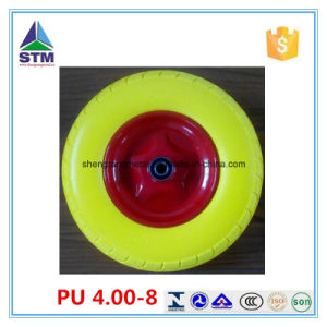 PU Foam Rubber Wheel/Durable PU Foam Wheel China Supplier pictures & photos