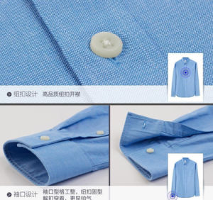 OEM Men′s Casual Long Sleeve Fashion Lysell Dress Shirt pictures & photos