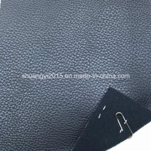 Be028-A421 Classical Lichee Pattern Synthetic Leather (PU) for Bags pictures & photos