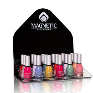 Silk Screen Printing Acrylic Counter Display for Nail Polish, Point of Sale Display pictures & photos
