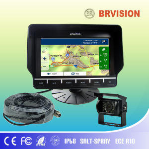 "Brvision Unique Design 7"" GPS & Rear View Monitor, pictures & photos"