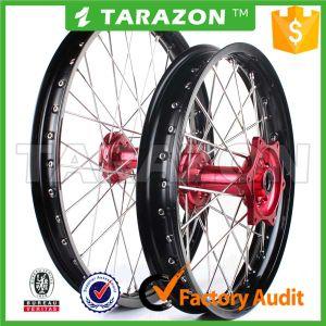 Whole Set Front and Rear Aluminium Motorcycle Rim and Hub Wheel for Honda Crf250r