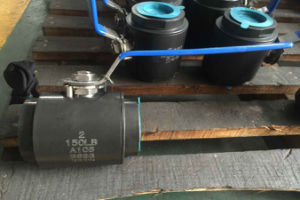 Flanded Floating Type A105 Ball Valve