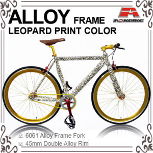 Alloy Frame Fore Leopard Order Color Fixed Gear Bike (KB-700C11-1R) pictures & photos