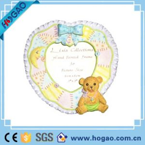 Polyresin Picture Frame Love Heart and Lovely Bear pictures & photos