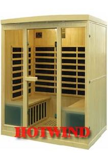 2016 Portable Far Infrared Sauna Room Wood Sauna for 4 People (SEK-I4) pictures & photos