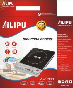 Ailipu Brand Best Selling for Syria Market Low Price Pushbutton Induction Cooker 2000W (ALP-18B1) pictures & photos