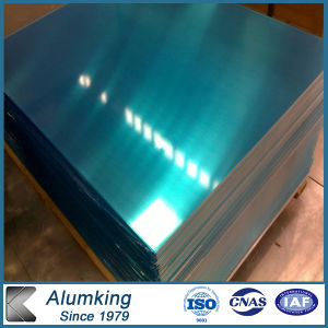 0.45mm Thickness 1100 Aluminum Sheet with PVC Surface pictures & photos