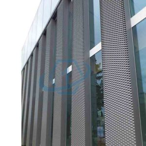Decorative Aluminum Expanded Metal Mesh Panel for outdoor Wall pictures & photos
