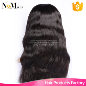 U Shaped Human Hair Wig Indian Lace Front Human Hair Wigs Upart Wig Bleached Knots Sew in Wigs pictures & photos