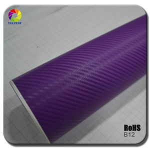 High Quality 3D Carbon Fiber Vinyl for Car Wrapping&B12 pictures & photos