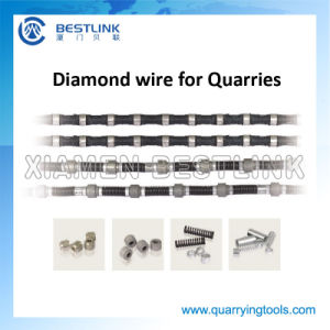 Quarry Multi-Wire Saw Machine Diamond Wire Rope for Cutting Stone pictures & photos