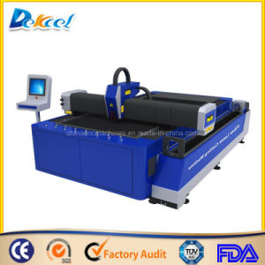 Metal Tube Laser Cutter 500W Plate Fiber Processing CNC Machine pictures & photos