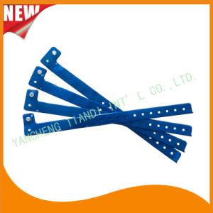 Entertainment Custom Plastic Vinyl Festival Evens ID Bracelets Wristbands (E60712) pictures & photos