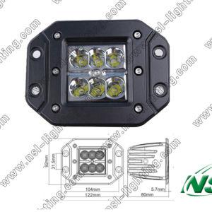 Flush Cube 12V 24V LED Work Light for Cars IP67 Waterproof E-MARK pictures & photos