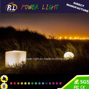 Waterproof LED Cube Glowing Outdoor Chair pictures & photos