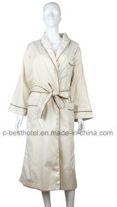 Wholesale Cotton Terry Cloth Bathrobe for Hotel and SPA pictures & photos