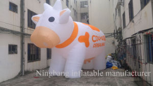 Logo Printing Inflatable Milk Cow Dairy Cow for Advertising pictures & photos