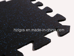 Interlocking Tiles/Mats Rubber Flooring for Gym pictures & photos