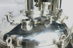 Stainless Steel Inclined Cosmetic Vacuum Emulsifier Mixer with Lift pictures & photos