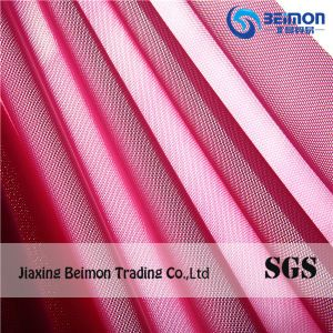 86%Polyester Spandex Warp Knitted Stretch Mesh Fabric pictures & photos