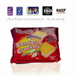 Sandwich Crackers (Chocolate, taro, strawberry Flavor) &Biscuit