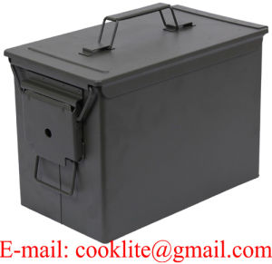 PA108 Fat 50 Cal Metal Ammo Box Ammunition Can pictures & photos