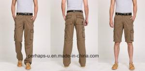 Cool Mens Multifunctional Detachable Cotton Cargo Pants pictures & photos