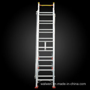 Multi-Purpose Telescopic Aluminum Ladder with GS Approval pictures & photos