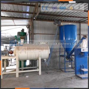 Stainless Steel Simple Dry Mortar Mixing Production Line in China pictures & photos